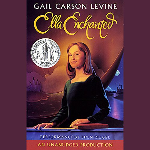 Ella Enchanted audiobook cover art
