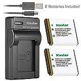 Kastar Battery (X2) & Slim USB Charger for Kodak KLIC-7001 and Kodak EasyShare M320, M340, M341, M753 Zoom, M763, M853 Zoom, M863, M893 is, M1063, M1073 is, V550, V570, V610, V705, V750 Cameras