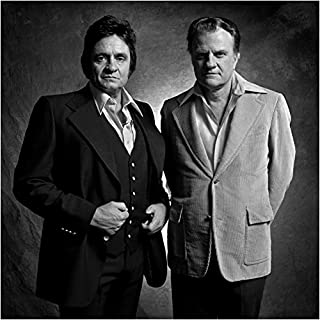 Johnny Cash And Billy Graham 8 X 10 Photo