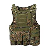 ATAIRSOFT Hunting Airsoft Tactical Paintball MOLLE Style Vest AOR2