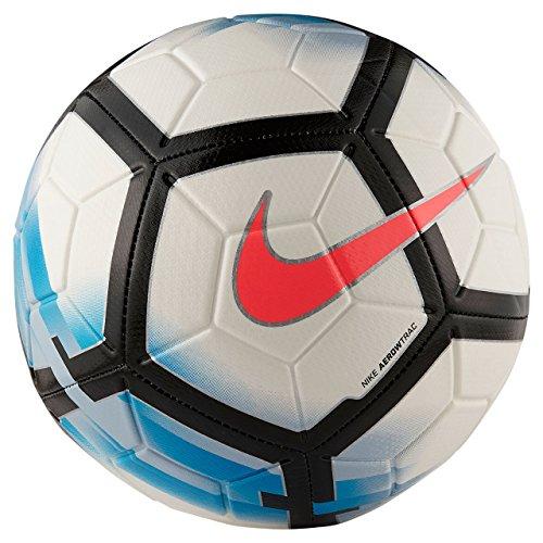 Nike Strike Fußball, White/Blue Orbit/Black/Hot Punch, 5