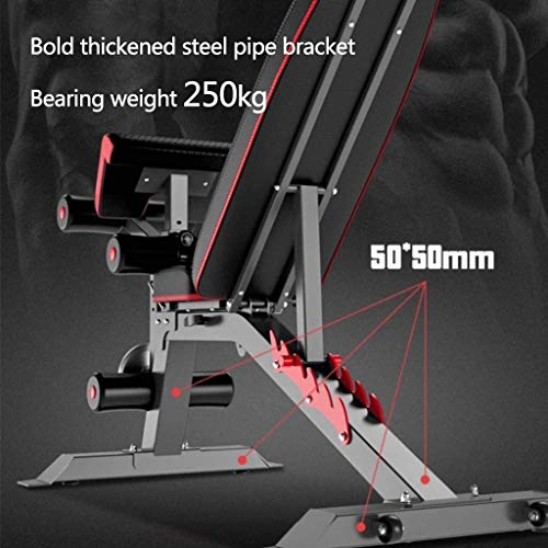 suge Adjustable Weight Bench Foldable Workout Bench for Home Gym Exercises, Perfect Multi-purposed Fitness Bench