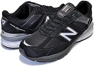 [ニューバランス] M990 V5 BK5 メンズ スニーカー Dワイズ ブラック NEWBALANCE M990BK5 MADE IN U.S.A. 990 BLACK [並行輸入品]