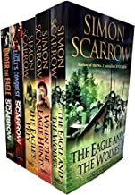 Simon Scarrow 5 Books Collection Set (Eagles of the Empire) (Under the Eagle, The Blood Crows, When the Eagle Hunts, The E...
