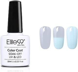Elite99 Temperature Colour Changing Grey Gel Polish 10ml (4306)