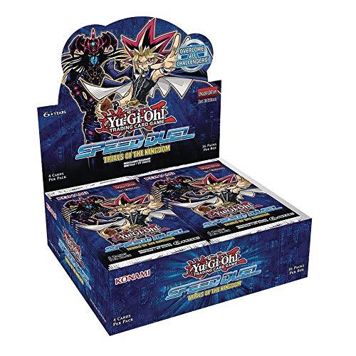 Yu Gi Oh YGO-SDTK-EN Speed Duel – Trials of The Kingdom Booster Display Box mit 36 Paketen