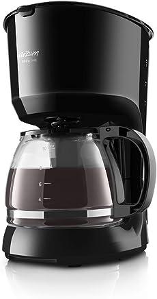 Arzum AR3046 Filtre Kahve Makinesi, Plastik, Siyah