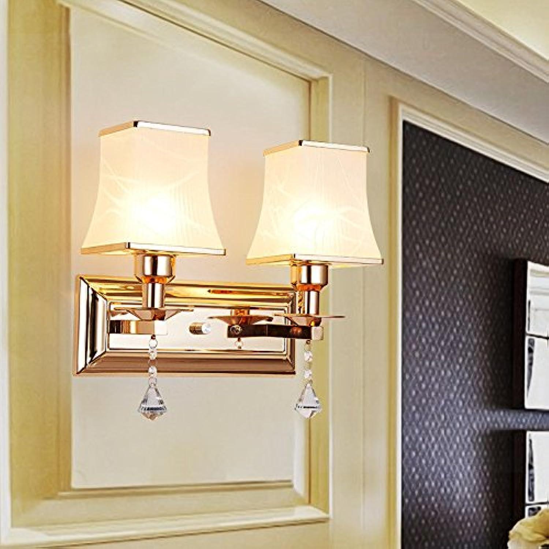 StiefelU LED Wandleuchte nach oben und unten Wandleuchten Leiter der Bed hellgrün Wohnzimmer Wand Lampen LED leuchten Schlafzimmer Treppe balkon Flur l 19 cmw 6 cm, Dual Head