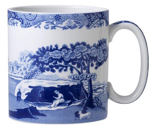Spode Blue Italian Mug, Set of 4 by Spode