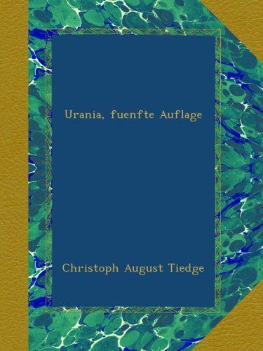 Urania, fuenfte Auflage