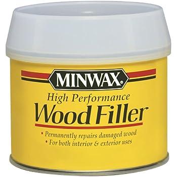Minwax 21600000 High-Performance Wood Filler, 12-Ounce Can