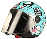 BHR 69439 Casco Warner Bros, Multicolore (Silvestro), YM