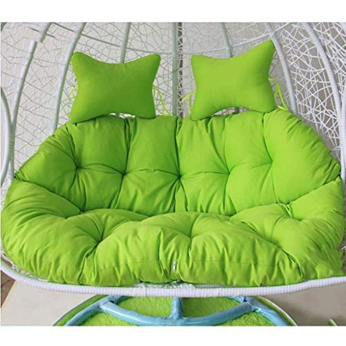 ZHBH Hamacas Cojines para sillas con Forma de Hamaca para Huevos, cojín para Columpios para Columpios, jardín al Aire Libre, Patio, Colgantes, Muebles de Tejido de Mimbre, Tam