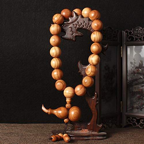 SMEJS Pendentif Voiture Pendentif tourbillonner Bodhi Pending Bijoux arrière Vue arrière-Miroir sécurité Talisman décoration d intérieur Pendentif