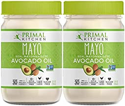 Primal Kitchen - Avocado Oil Mayo, Dairy Free, Whole30 and Paleo Approved (12 oz) - 2 Pack