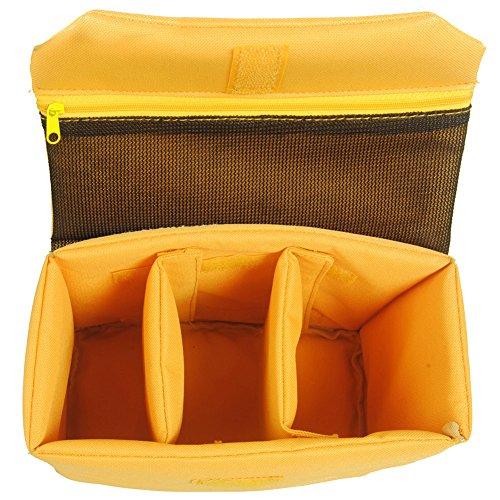 Oxford Wasserdicht Stoßfest Partition Gepolsterte Kamerataschen SLR DSLR einfügen Schutz-Fall für DSLR erschossen oder Flash Light (groß)