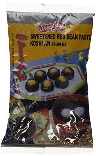 Koshi an (Fine Sweeted Red Bean Paste) - 17.6oz (Basic)