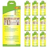 Stingmon 10pcs Ropa de protección contra Trampa para polillas Trampa para polillas para el Armario