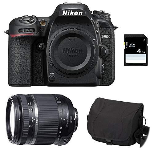 Nikon D7500 + TAMRON 18-270 VC PZD + Sac + Carte SD 4Go