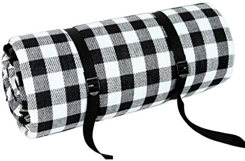 Convenient Beach mat Picnic Mat Mat Mat Fashion Plaid Stripe Outdoor
