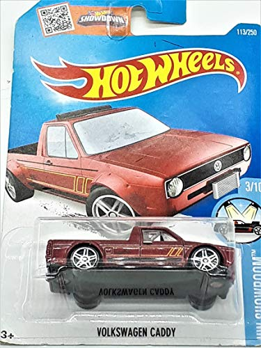 Hot Wheels, 2016 HW Showroom, Volkswagen Caddy [Maroon] Die-Cast Vehicle #113/250 by Hot Wheels