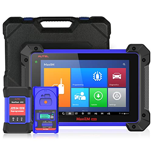 Autel MaxiIM IM608 Professional Key Programming Tool with IMMO Key Programmer XP400 and J2534 ECU Reprogrammer, Bi-Directional Diagnostic Scanner with 23 Services and All Systems Diagnosis (US ONLY)