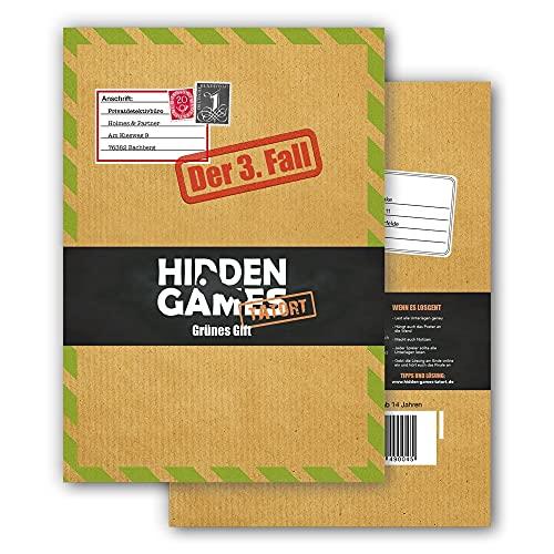 Hidden Games Tatort Krimispiel Fall 3 - Grünes Gift - Escape Room Spiel (Deutsche Edition)
