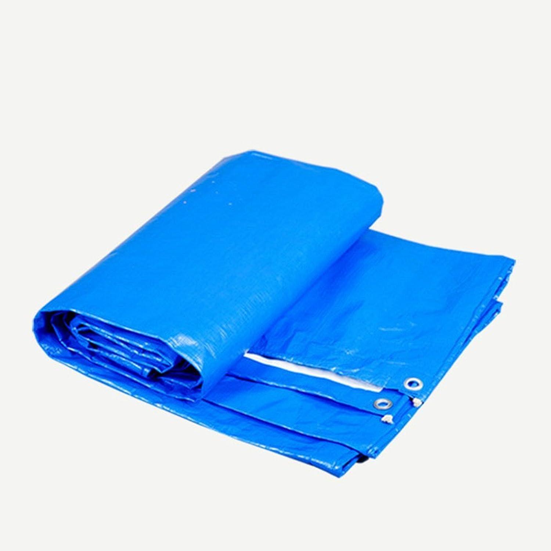 JINSH Regenschutztuch wasserdicht Planenware Sonnencreme Sonnencreme Sonnencreme Isolierung Auto Abdeckung Regenschutz Sonnencreme Isolierung Antioxidationsmittel Blau  Weiß (Farbe   A, Größe   6X8M) B07PXS4WXX  Qualitätskönigin 00824e