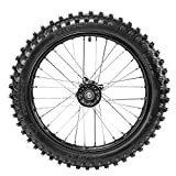 WPHMOTO 70/100-17 (2.75x17) 1.6x17 Front Wheel Tire and Rim Inner Tube With 15mm Bearing Assembly for Dirt Pit Bike