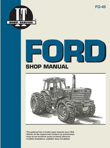 Ford Shop Manual ModelsTW5 TW15 TW25 & TW35 (I & T Shop Service)