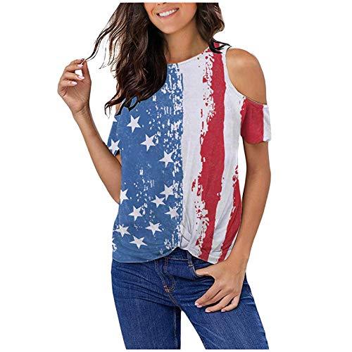 Kurzarm T-Shirt Tops Damen Tie-Dye Druck Farbverlauf Farbe O-Ausschnitt Bluse Pullover Crop Top