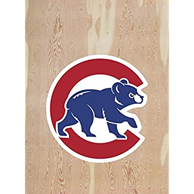 Baseball Decal 17  Sticker for Cornhole Wall Car Cubs Chicago