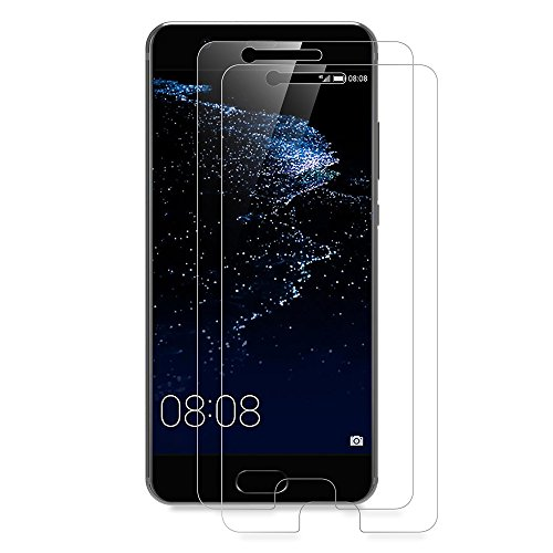 AICEK [Lot de 2] Verre Trempé Huawei P10, Film Protection écran Verre trempé pour Huawei P10 Vitre Protection P10 (5,1 Pouces) Ecran Verre Trempe