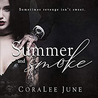 Summer and Smoke                   Written by:                                                                                                                                 CoraLee June                               Narrated by:                                                                                                                                 Jo Raylan,                                                                                        Benjamin D. Walker                      Length: 6 hrs and 55 mins     Not rated yet     Overall 0.0