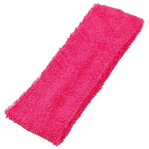Headband - SODIAL(R) Lady Face Lavage Douche Ruban elastique Bandeau Rose rouge 2 Pcs