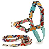 PetSafe EWH-C-HC-M-DNT Easy Walk Chic Harness, Medium, Donuts