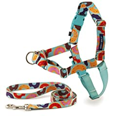 LEGACY OF TRUST: This harness was created 15 years ago by a veterinary behaviorist and is trusted by a million dog parents and trainers each year TEACHES BETTER LEASH MANNERS: Patented Martingale loop and front chest leash attachment minimizes your d...