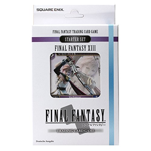 Square Enix Final Fantasy TCG: Final Fantasy XIII Starter - Eis & Blitz
