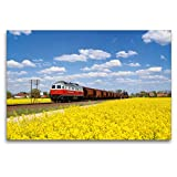 Premium Textil-Leinwand 120 x 80 cm Quer-Format Unterwegs