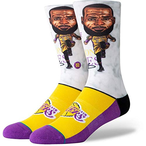 Stance Herren Lebron Big Head Socken, Multi, L
