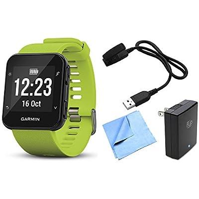 Garmin Forerunner 35 GPS Running Watch & Activity Tracker with Accessories Bundle