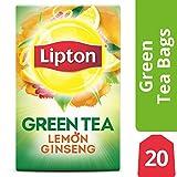 Best Ginseng Teas - Lipton Green Tea Bags, Lemon Ginseng, 20 ct Review