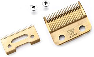 Professional Cutting Guides Kit Universal Hair Clipper Blade Limit Comb Attachment Size Barber Replacement For Wahl 5-star Sentor, Super Taper, Super Taper Ii, Pro Basic, Magic Basic(Gold)