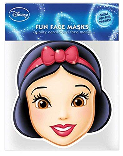 Disney Princess-Blanche-Neige Empire Masque en Carton de Elizabeth II avec Trous pour Les Yeux et élastique 30 x 20 cm