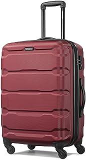 Samsonite 新秀丽 中性 OMINIC时尚拉杆箱 万向飞机轮旅行箱行李箱 TQ8*10002 酒红色 24寸