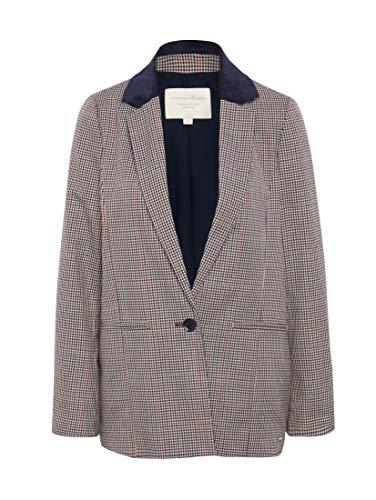 TOM TAILOR dames geruit boyfriend blazer pak jas