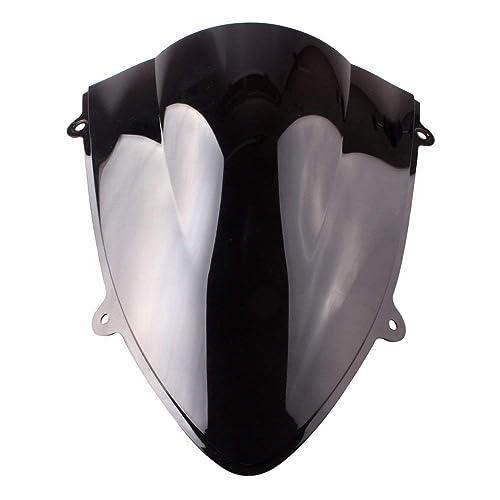 GZYF Black Windscreen Windshield Fit Kawasaki Ninja Ex250 250r 08 09 10 11 12 2008 2009