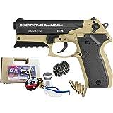 Gamo Pack Pistola PT 80 Dessert Attack Special Edition de balines