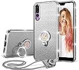 UEEBAI Case For Huawei Mate 10 Lite, Glitter Soft TPU Case