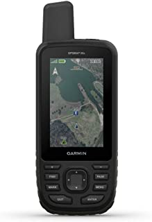 Garmin GPSMAP 66st 手持远足 GPS 带 3 英寸彩色显示屏、TOPO 地图和 GPS/GLONASS/GALILEO 支持010-01918-00 66s 1.27 inches